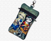 Alice & Snow White Jasmine Becket Griffith cell phone bag small travel wristlet gadget case essentials bag 2 pockets padded