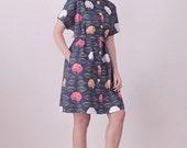 SALE Fine day dress - Navy (40% OFF)