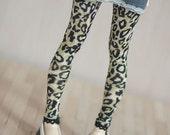 Leopard leggings for BJD