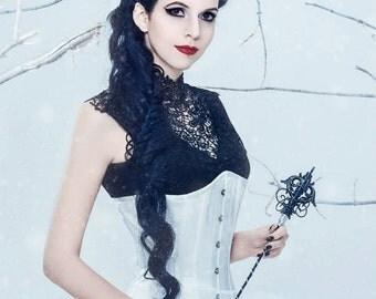 Gothique 3.0 - Gothic Tiara Gothic Crown Evil Queen Crown Evil Queen Tiara Simple Black Tiara Black Crown Filigree Crown Evil Queen  Cosplay