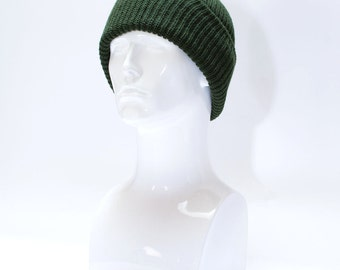 SALE Army Surplus Hat >> Winter Acrylic Pull On Watch Cap New Unissued US Army Surplus Stock >> One Size