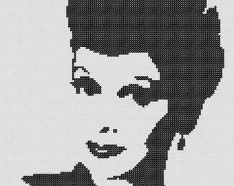 PATTERN: Lucille Ball Cross Stitch