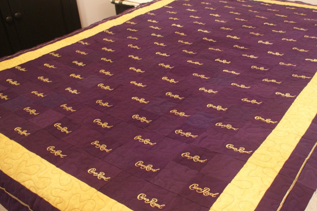 Crown Royal Quilt, Made to Order Custom Quilt, You Choose Pattern ... : crown royal quilt pictures - Adamdwight.com