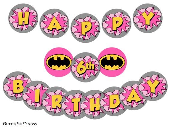 Flying Super Hero Party Pink Batgirl Super Girl Pdf