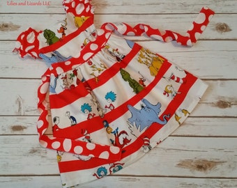 Dr Suess Character Dress Made to Order