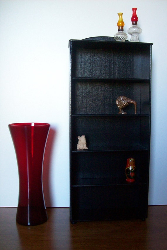 black extra tall display shelves collectible by. Black Bedroom Furniture Sets. Home Design Ideas