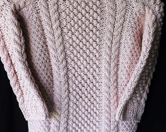 Hand knit kids sweater