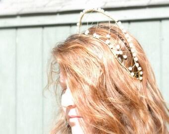 Queen Elizabeth's Pearl Headdress