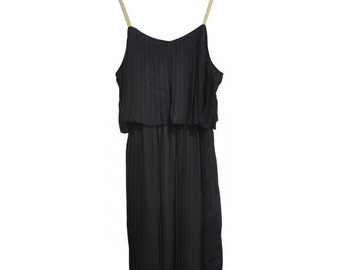Sun pleated Dress with adjustable Straps.