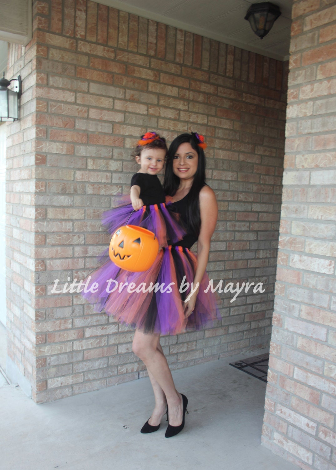 Mommy and me Halloween tutu Mommy and me halloween costume