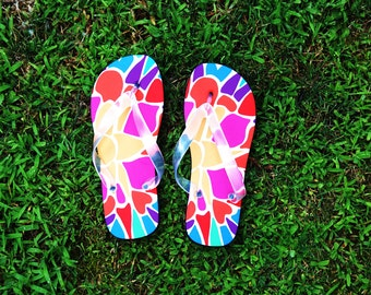 Flipflops Color Blossom