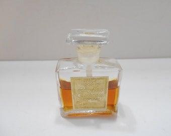 Vintage 1965 Les Fleurs Enchantees Perfume by Viviane Woodard (18) 1/4 fl. oz.