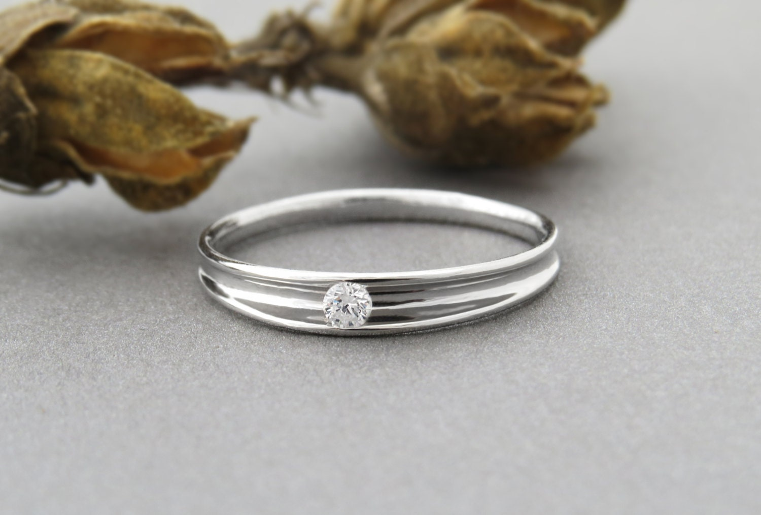 unique engagement ring small diamond engagement ring. Black Bedroom Furniture Sets. Home Design Ideas