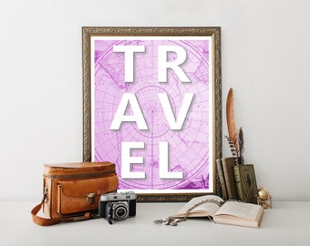 Travel Decor, Travel Printable, Travel Poster, Travel Download, Travel Print, Travel Art, Travel Posters, Travel Digital Download 0232