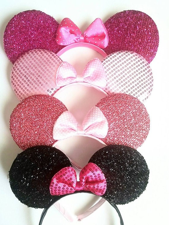 minnie mouse ears minnie mouse minnie halloween ears black. Black Bedroom Furniture Sets. Home Design Ideas