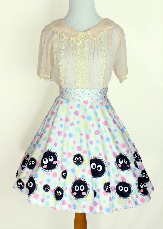 SPIRITED AWAY Soot Sprites Konpeito Skirt