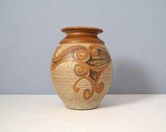 Vintage Wishon Harrell Large California Studio Art Pottery Vase