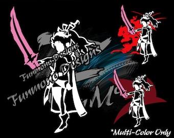 Terra Branford Vinyl Decal (Final Fantasy VI Series) *Mutli-Color Version*
