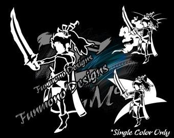 Terra Branford Vinyl Decal (Final Fantasy VI Series)