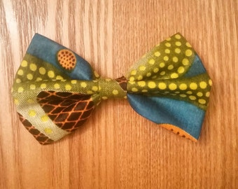 Ankara Print Bow Tie - Elemental (Wax Print, BowTie, African Fashion, Bow, Ties)