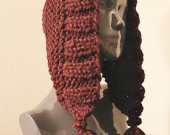 Knitted Tassel Hat