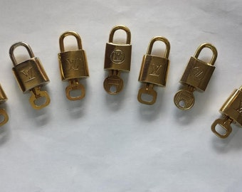 Authentic Louis Vuitton padlock with one key