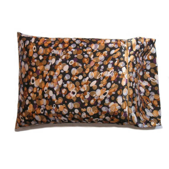 Decorative Pillow and Pillow Cover. Satin Bed by ATouchofSatinLLC