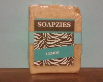 100% Natural Lemon Soap