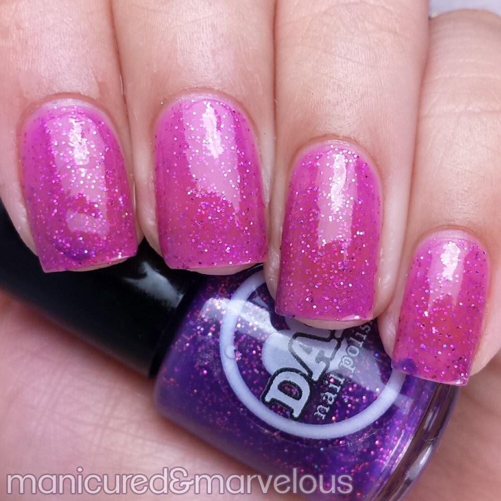 Pink Purple Nail Polish: Thermal Nail Polish