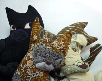 Custom cat softie handmade