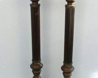 Brass Candlesticks - Set of 2