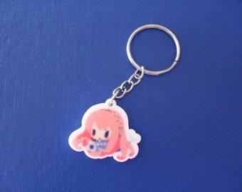 Cute Vocaloid Keychain Anime Tako Luka Megurine