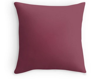 Raspberry Pink Pillow, Raspberry Pink Throw Pillow, Pink Decorative Pillow, Pink Pillow, Pink Toss Pillow