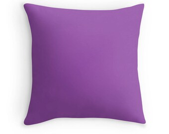 Purple Pillow, Purple Throw Pillow, Purple Decorative Pillow, Purple Pillow, Purple Toss Pillow, Purple Bedding, Purple Pillow Case