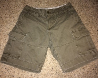 Sale!! Vintage GAP Cargo skateboard Summer shorts size 29