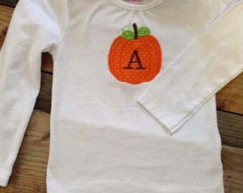 Toddler Pumpkin Shirt