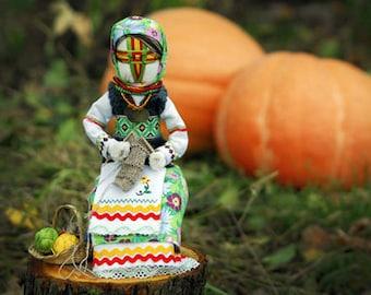 Ukrainian doll - Motanka Doll-Textile Home Decoration
