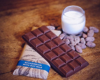 Vegan Milk Chocolate with Oat Milk
