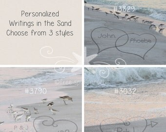 Writings in the Sand-Beach Writings-Sand Writing-Names in Sand-couple-forever-infinity-est.-Personalized Gift-Digital Download- #pinkbch