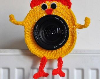 camera lens buddy -chicken