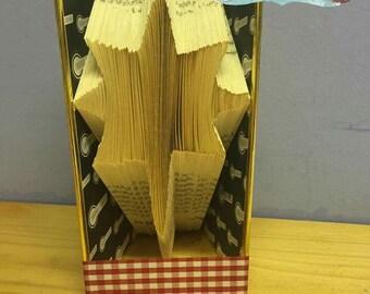 North Star - Christmas - Book Folding Pattern