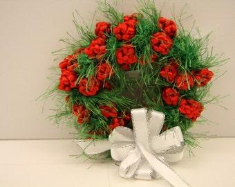 Holiday Wreath Ornaments