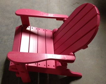 Children's Folding Adirondack Chair