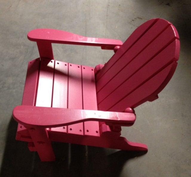Children S Folding Adirondack Chair