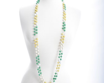 Cool and Elegant Mixed Beaded Necklaces