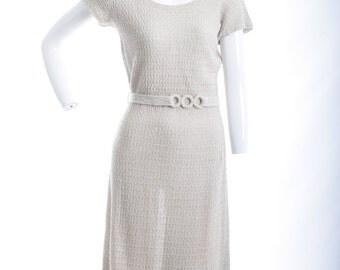 Understated Elegance Vintage Knit Dress