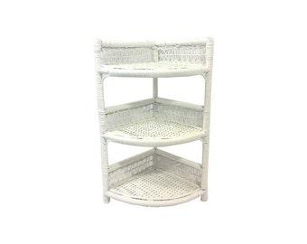 White Corner Shelf Etsy
