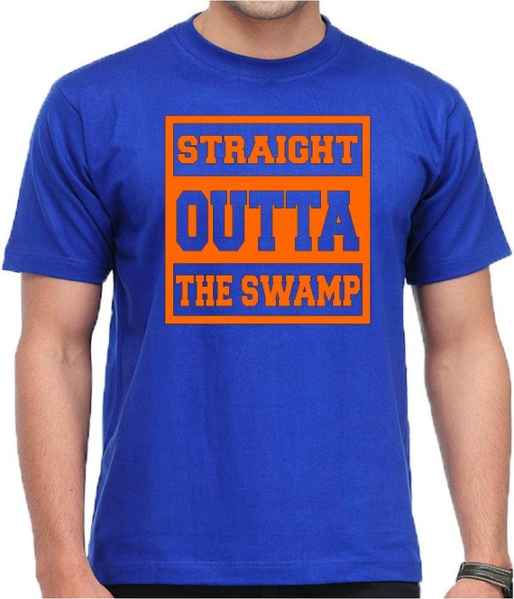 Straight outta the swamp florida gators shirt ncaa by for Florida gators the swamp shirt
