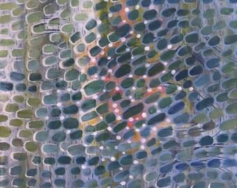 River - Acrylics On Canvas - Unique