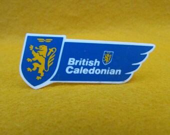 British Caledonian Airways Lapel Badge, Pin